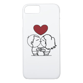 Capa iPhone 8/ 7 Love is in the air - O amor está no ar