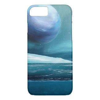 Capa iPhone 8/ 7 Lua ártica da noite do inverno, caso do iPhone 7