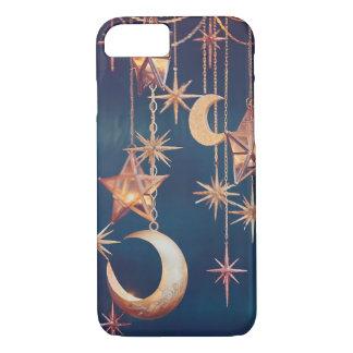 Capa iPhone 8/ 7 Lua & estrelas