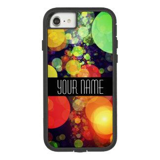 Capa iPhone 8/ 7 Luzes brilhantes de Bokeh do arco-íris