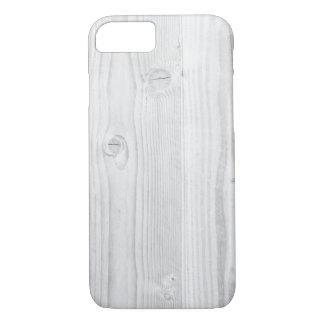 Capa iPhone 8/ 7 Madeira branca