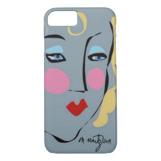 Capa iPhone 8/ 7 Madeline era louca para o caso do iPhone 6 de