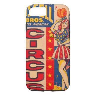 Capa iPhone 8/ 7 Maior circo americano de Russell Bros