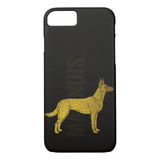 Capa iPhone 8/ 7 Malinois - pastor belga - Mechelaar - Maligator