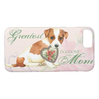 Capa iPhone 8/ 7 Mamã do coração de Russell Terrier