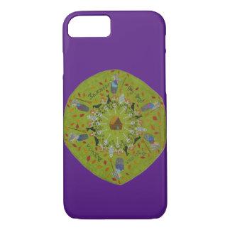 Capa iPhone 8/ 7 Mandala de Yaga do babá