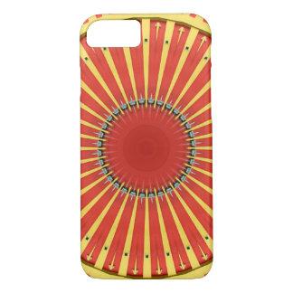 Capa iPhone 8/ 7 Mandala do caleidoscópio em Hungria: Teste padrão