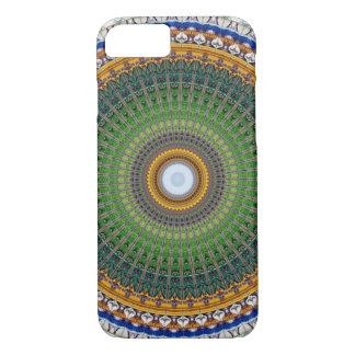 Capa iPhone 8/ 7 Mandala do caleidoscópio em Portugal: Teste padrão
