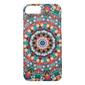 Capa iPhone 8/ 7 Mandala do caleidoscópio em Slovenia: Teste padrão