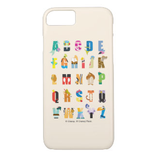 Capa iPhone 8/ 7 Mania do alfabeto de Disney