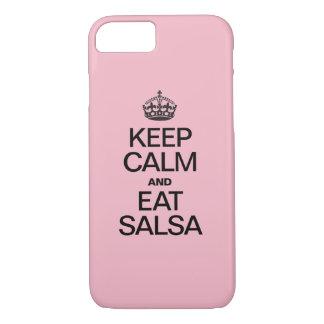 CAPA iPhone 8/ 7 MANTENHA CALMO E COMA A SALSA