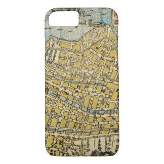 Capa iPhone 8/ 7 Mapa de Nagasaki
