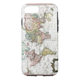 Capa iPhone 8/ 7 Mapa do mundo 1748