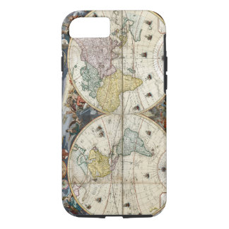Capa iPhone 8/ 7 Mapa do mundo 1766