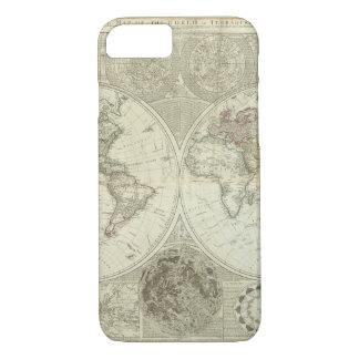 Capa iPhone 8/ 7 Mapa do mundo danificado 25
