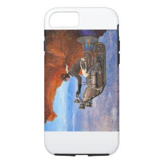 Capa iPhone 8/ 7 Máquina de vôo de Steampunk