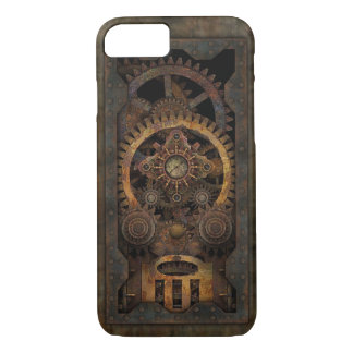 Capa iPhone 8/ 7 Máquina industrial suja #2 de Steampunk