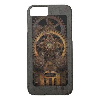 Capa iPhone 8/ 7 Máquina Infernal #2B de Steampunk