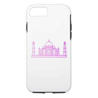 Capa iPhone 8/ 7 Marcos - caso de Taj Mahal