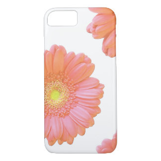 Capa iPhone 8/ 7 Margarida alaranjada do gerbera