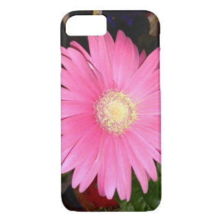 Capa iPhone 8/ 7 Margarida cor-de-rosa do Gerbera