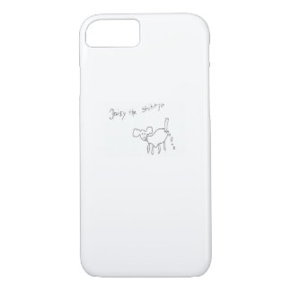 Capa iPhone 8/ 7 Margarida o cobrir do iphone do tzu de shih