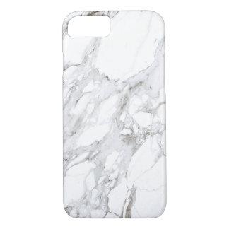 Capa iPhone 8/ 7 Mármore branco Luxe