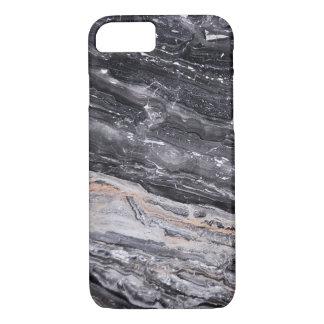 Capa iPhone 8/ 7 Mármore cinzento branco preto masculino de pedra
