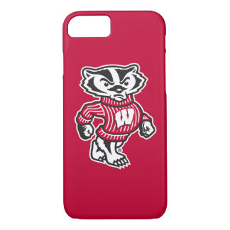 Capa iPhone 8/ 7 Mascote Bucky do texugo de Wisconsin |