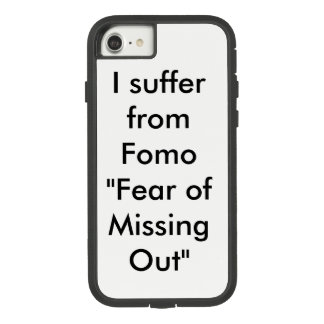 Capa iPhone 8/ 7 Medo da falta para fora