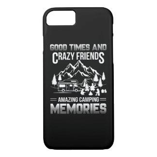 Capa iPhone 8/ 7 Memórias de acampamento do bom amigo louco das