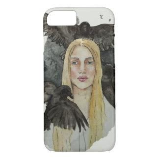 Capa iPhone 8/ 7 Menina com os corvos