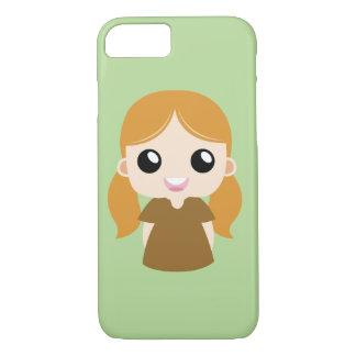 Capa iPhone 8/ 7 Menina de Cinderella