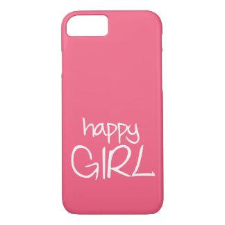 Capa iPhone 8/ 7 Menina feliz