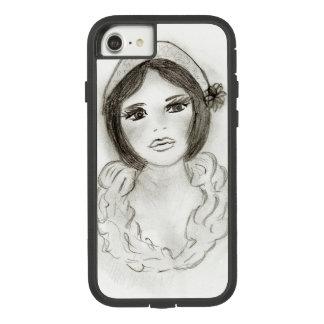 Capa iPhone 8/ 7 Menina Ruffled do Flapper