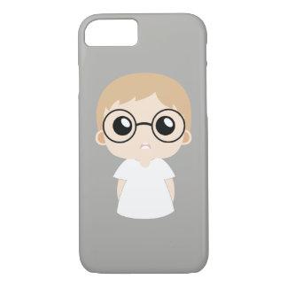 Capa iPhone 8/ 7 Menino do nerd