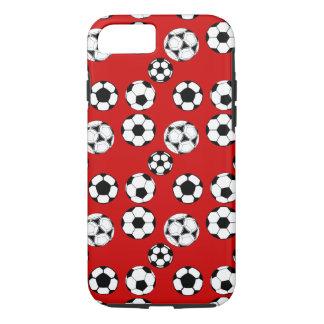 Capa iPhone 8/ 7 Meninos do futebol vermelhos