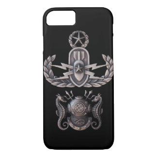 Capa iPhone 8/ 7 Mergulhador mestre mestre do EOD