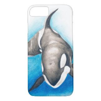 Capa iPhone 8/ 7 Mergulho profundo da orca