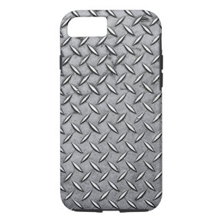 Capa iPhone 8/ 7 Metal viril do corte do diamante - olhar metálico