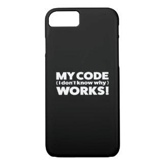 Capa iPhone 8/ 7 Meus trabalhos do código!