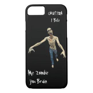 Capa iPhone 8/ 7 Mim zombi - você cérebro para homens e meninos