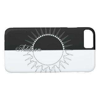Capa iPhone 8/ 7 Modelo conhecido feito sob encomenda preto &