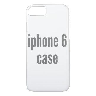 Capa iPhone 8/ 7 modelo vertical da suficiência do caso do iPhone 7