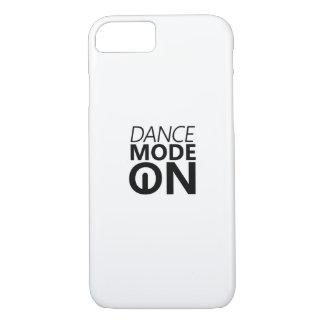 Capa iPhone 8/ 7 Modo da dança do presente da dança sobre