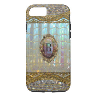 Capa iPhone 8/ 7 Monograma barroco de Veraspeace   VII
