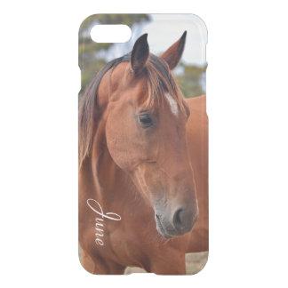 Capa iPhone 8/7 Monograma do cavalo