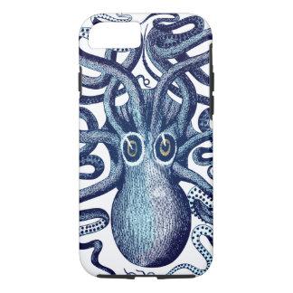 Capa iPhone 8/ 7 Monstro de mar azul do polvo