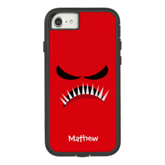 Capa iPhone 8/ 7 Monstro irritado com olhos maus e os dentes