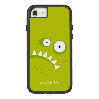 Capa iPhone 8/ 7 Monstro verde assustador engraçado irritado